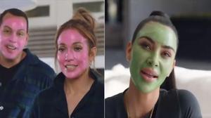 Kim Kardashian, Jennifer Lopez y su novio, el exjugador de béisbol Alex Rodríguez,protagonizan un divertido anuncio para Facebook.