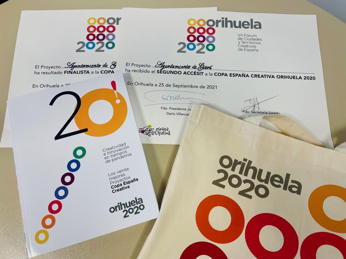 La Copa España Creativa premia el Hub ECCUS, del cual Gavà forma parte