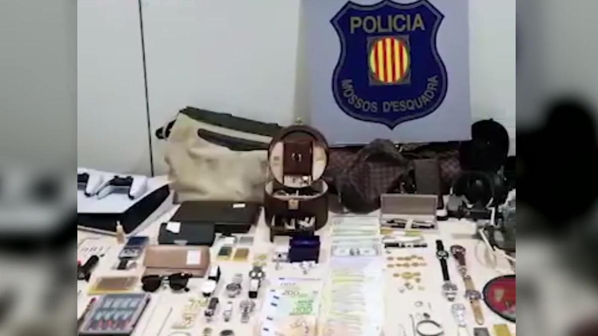 Encarcelados cuatro detenidos por robos en viviendas de Barcelona