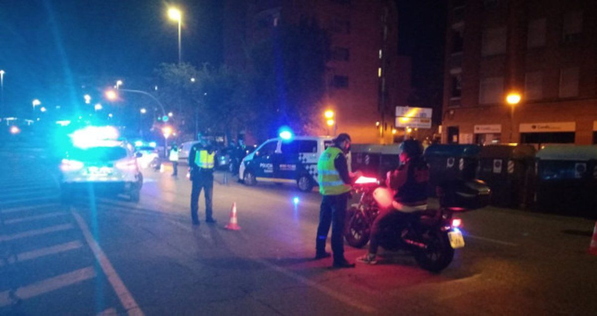 Control de vehículos en Sabadell
