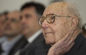 Heribert Barrera, en la celebración de su 80 cumpleaños.