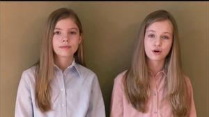 La infanta Sofia, en la seva primera declaració pública: «Tant de bo tot això passi aviat»