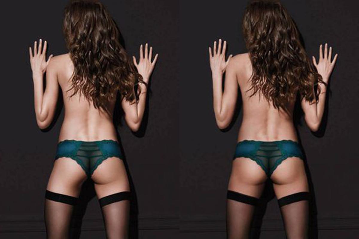 Victoria's Secret borra el gluteo de una de sus modelos