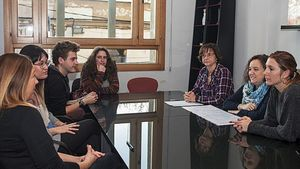 Primera sessió d'acollida a les persones contractades amb els Plans d'Ocupació Local del Servei d'Educació de Parets