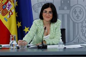 La ministra Darias comparece ante los medios tras el Consejo Interterritorial