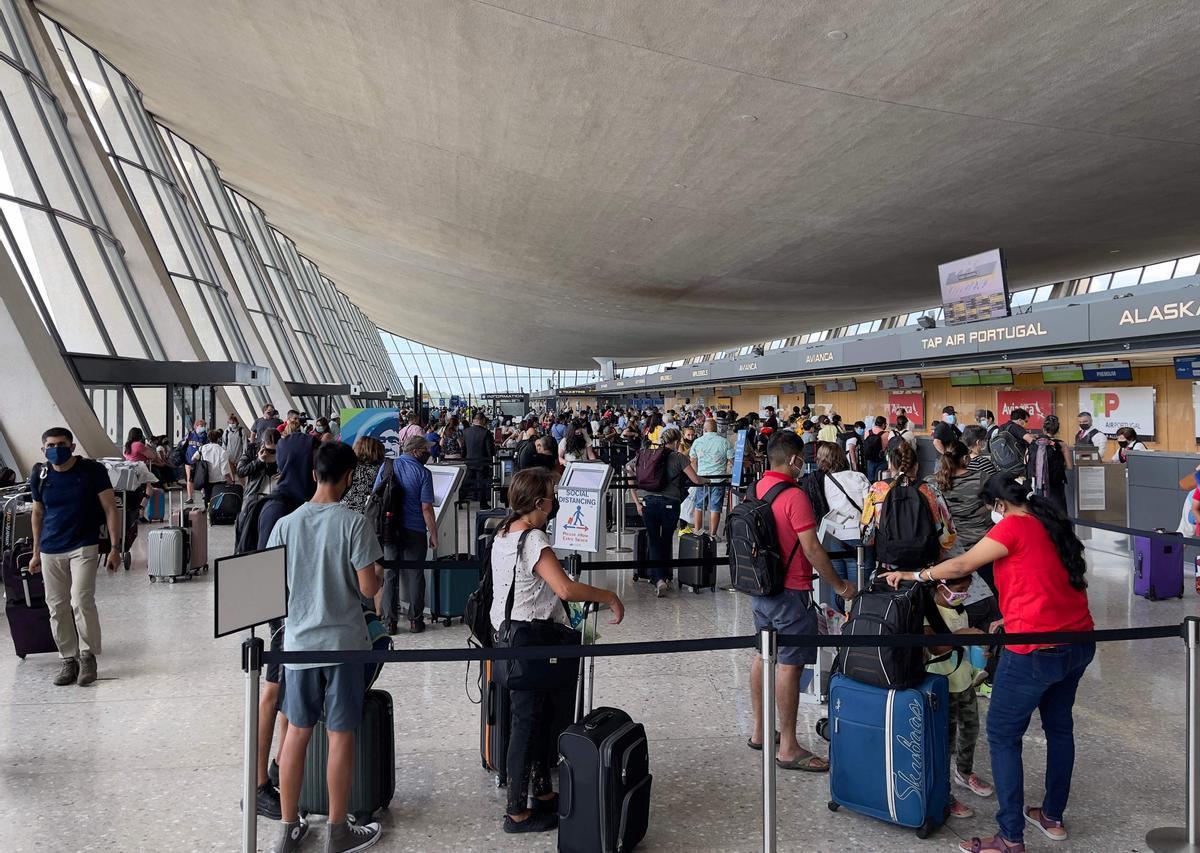 Terminal de embarque en el aeropuerto de Dulles, Virginia, el pasado 14 de agosto.
