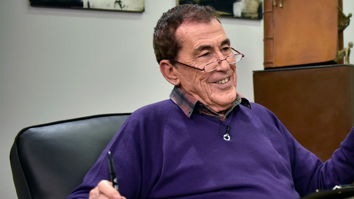 Fernando Sánchez Dragó, en noviembre de 2010.