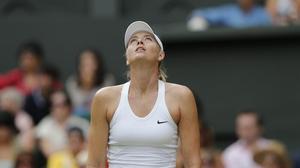Sharapova, en Wimbledon.