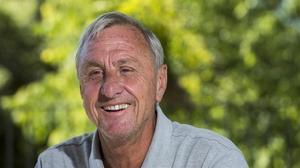 Johan Cruyff, durante una entrevista con este diario, en el 2015.