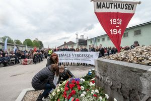 Acto de conmemoración a las víctimas deMauthausen en el 2019.