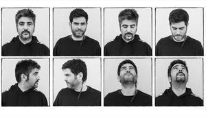 David y Jose Muñoz, en una secuencia con distintas fotografías, en el 2019.