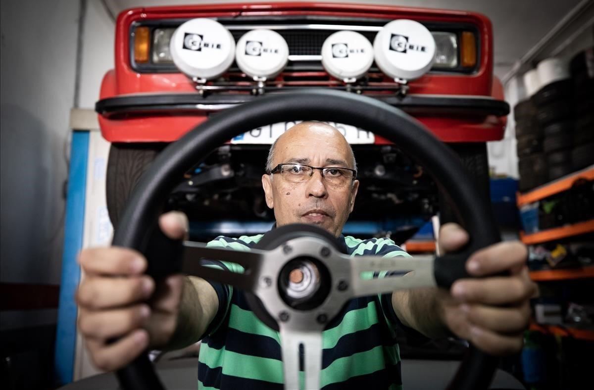 """Manel Fernández: """"Exhibes el coche, explicas las mejoras, cuentas batallitas..."""""""