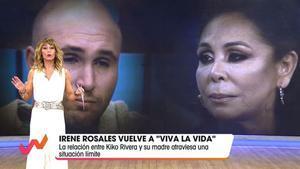 Moviendo el tema Pantoja ('Viva la vida', T-5).