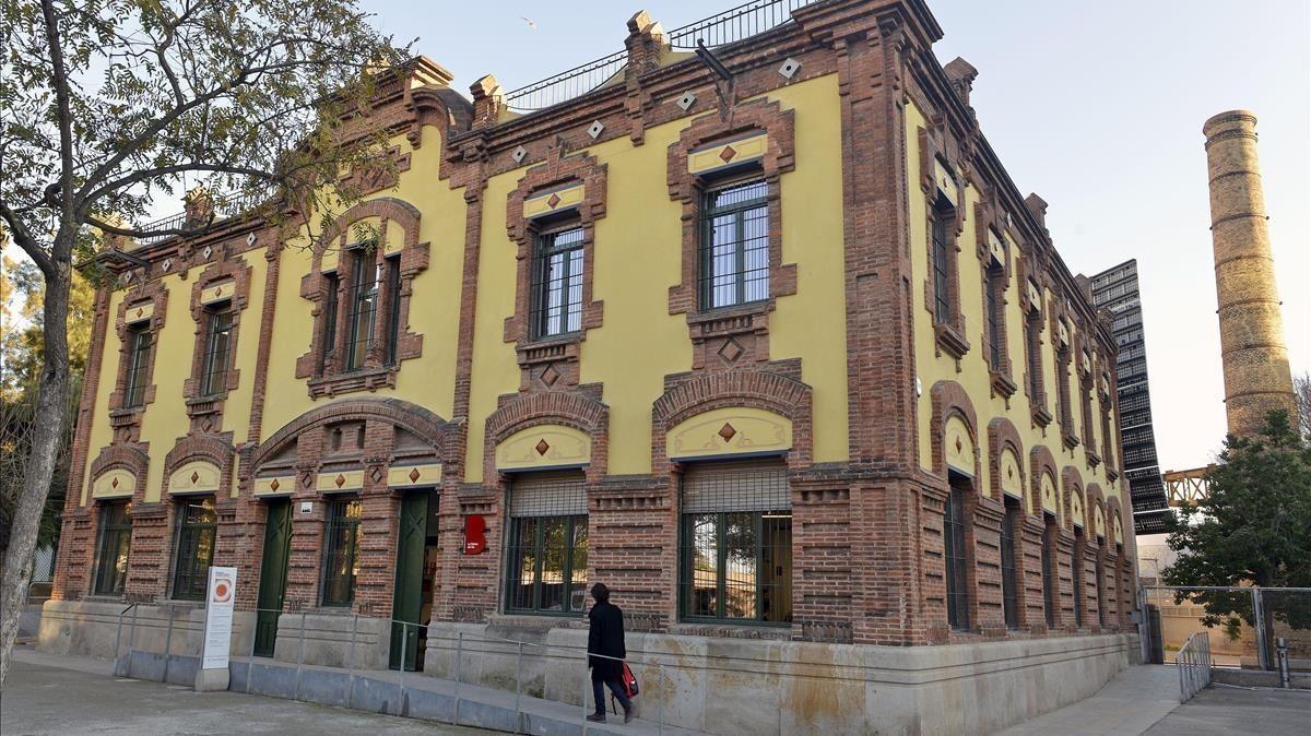 La Fábrica del Sol, en la Barceloneta.
