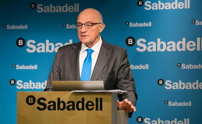 Banco Sabadell gana un 99,7 % menos en el 2020 por el covid y el ajuste de personal