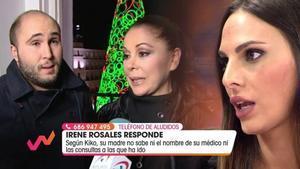 Irene Rosales hablando del conflicto entre Isabel Pantoja y Kiko Rivera en 'Viva la vida'.