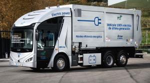 ie-Urban: Vehículo recolector-compactador eléctrico plug-in autocargable desarrollado con la plataforma FCC de e-movilidad