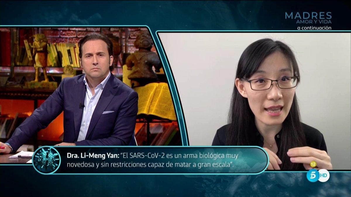"""Li-Meng Yan asegura a Iker Jiménez que el Covid-19 fue """"diseñado"""" en China para """"atacar al ser humano"""""""