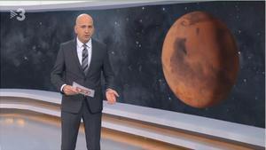 Emoción ante el planeta Marte ('TN migdía').