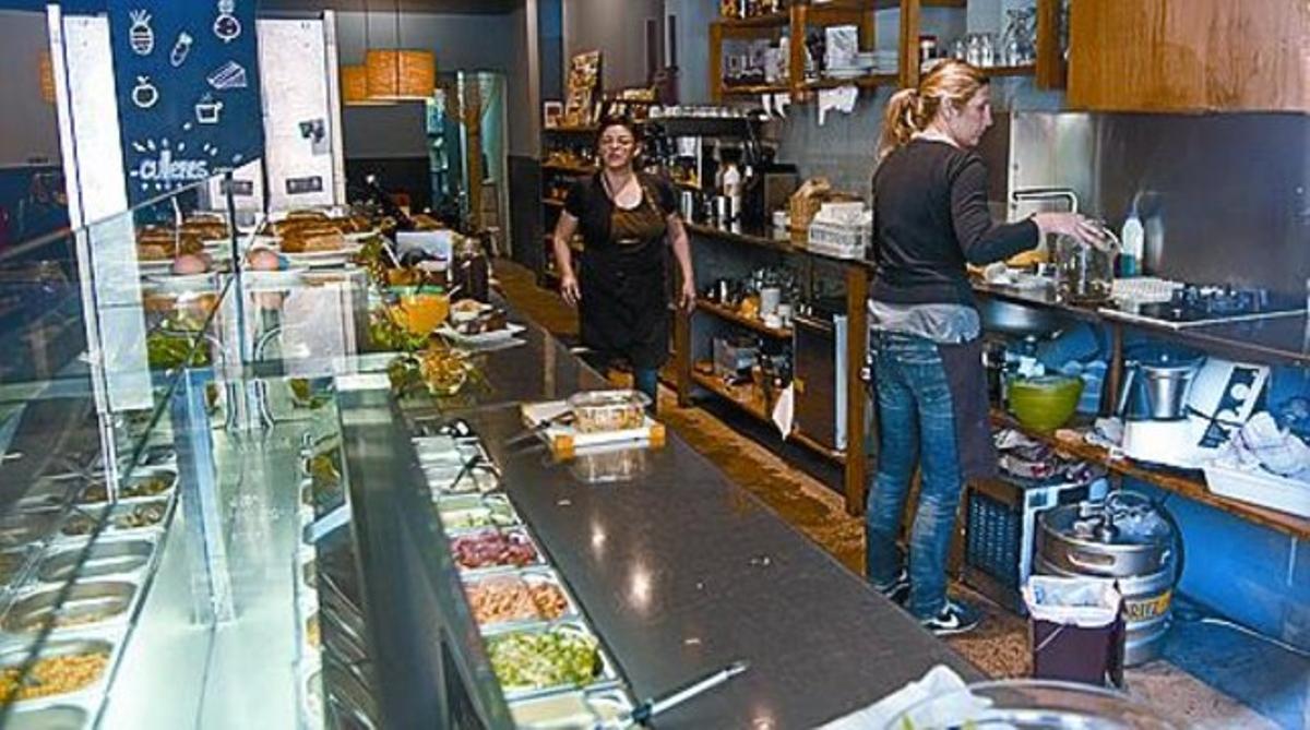 Un restaurante para seguir la dieta vegana
