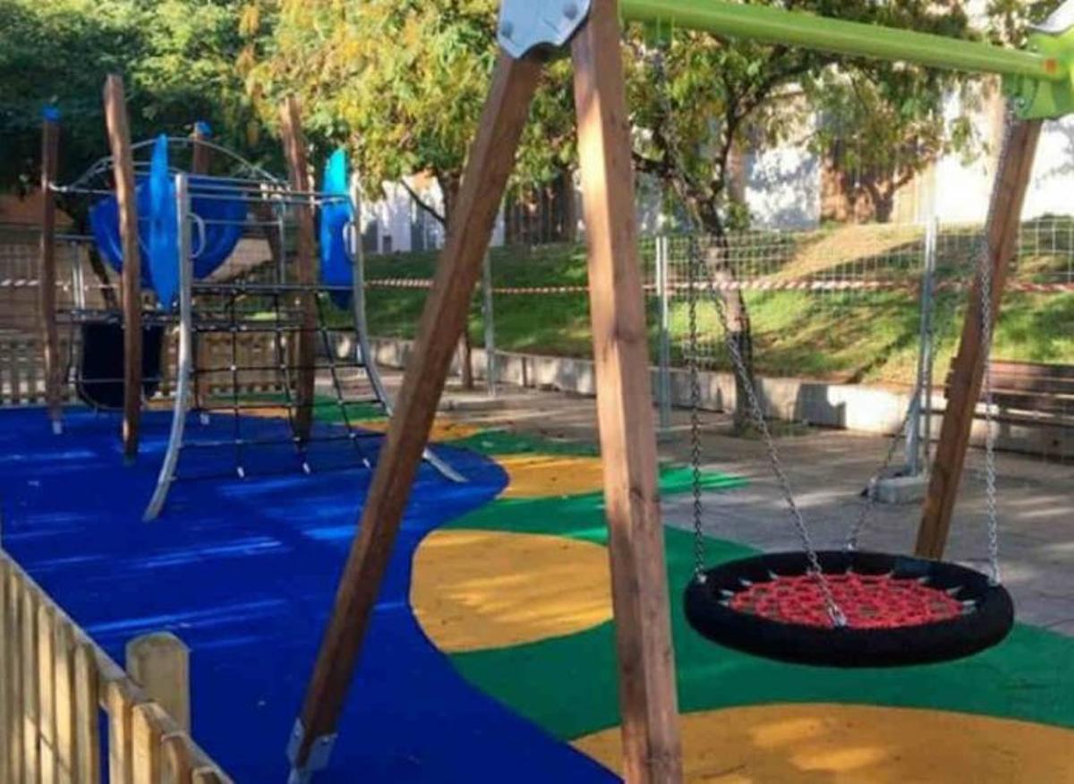 El nuevo parque infantil de Gavà