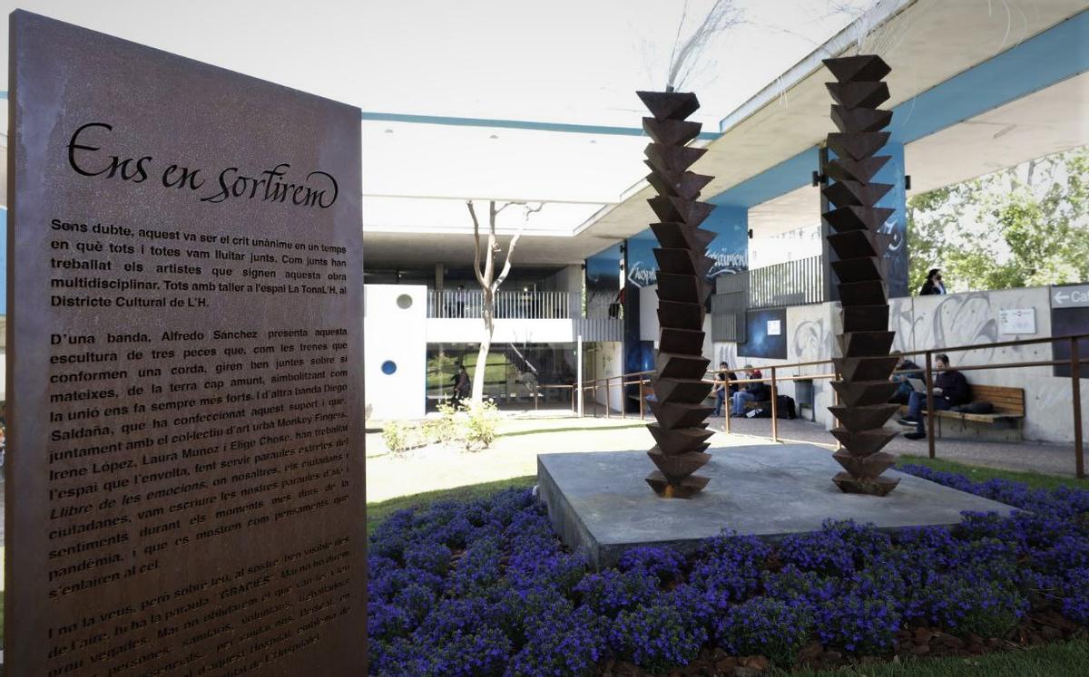 L'Hospitalet inaugura a Bellvitge un espai en memòria de les víctimes de la Covid