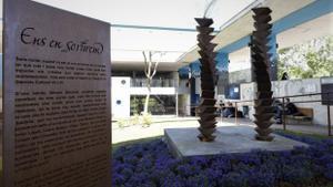 El Jardín de las Emociones, un espacio en memoria de las víctimas del covid-19 ubicado en el Hospital de Bellvitge.