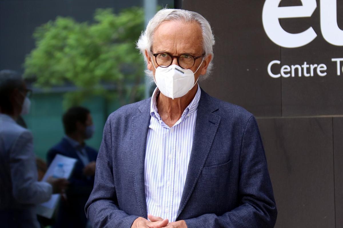 Bonaventura Clotet, jefe del Servicio de Enfermedades Infecciosas del Hospital Germans Trias i Pujol de Badalona.