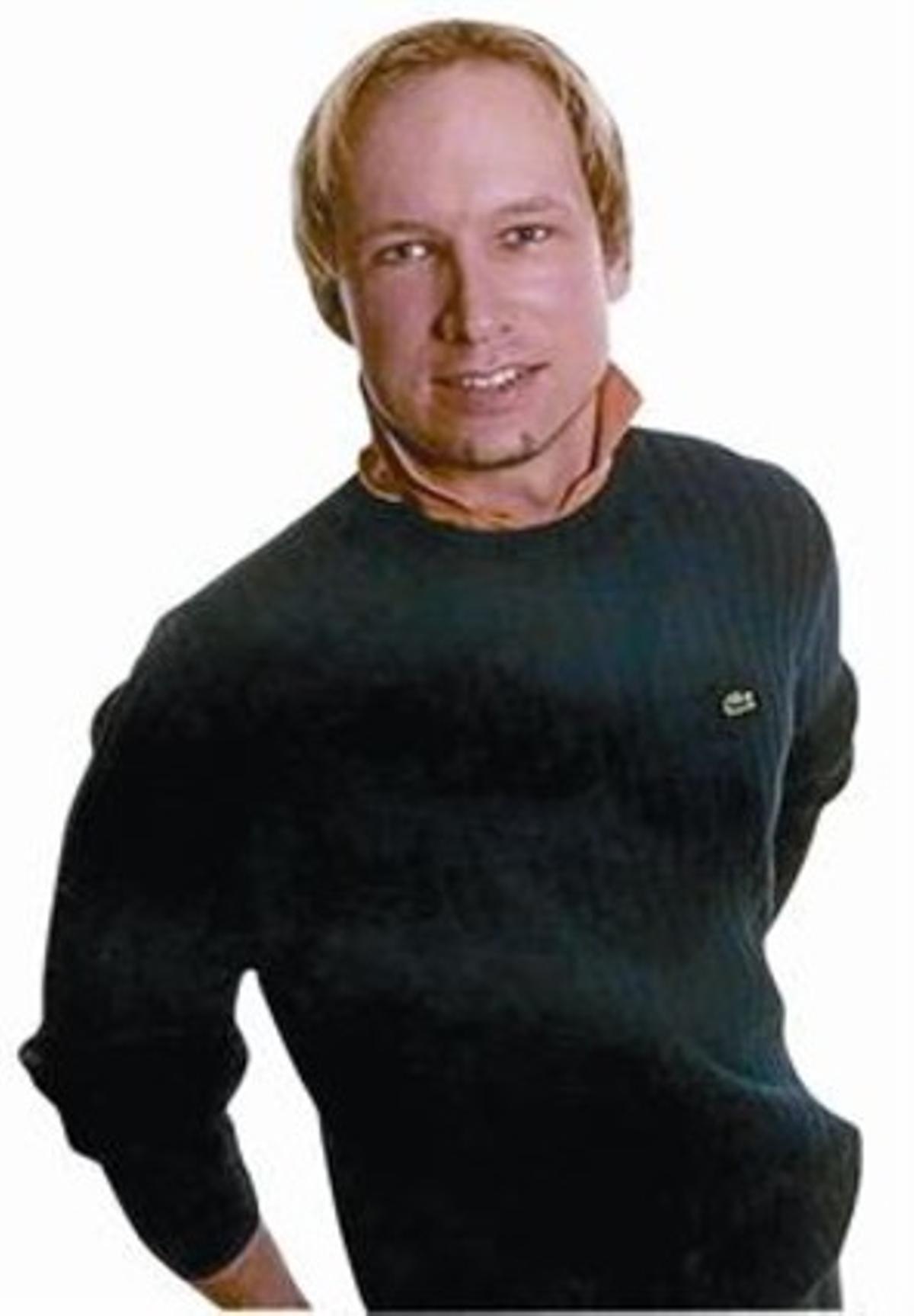 Anders Behring Breivik, en una imagen de Facebook.