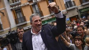 El alcalde de Pamplona, Joseba Asiron.