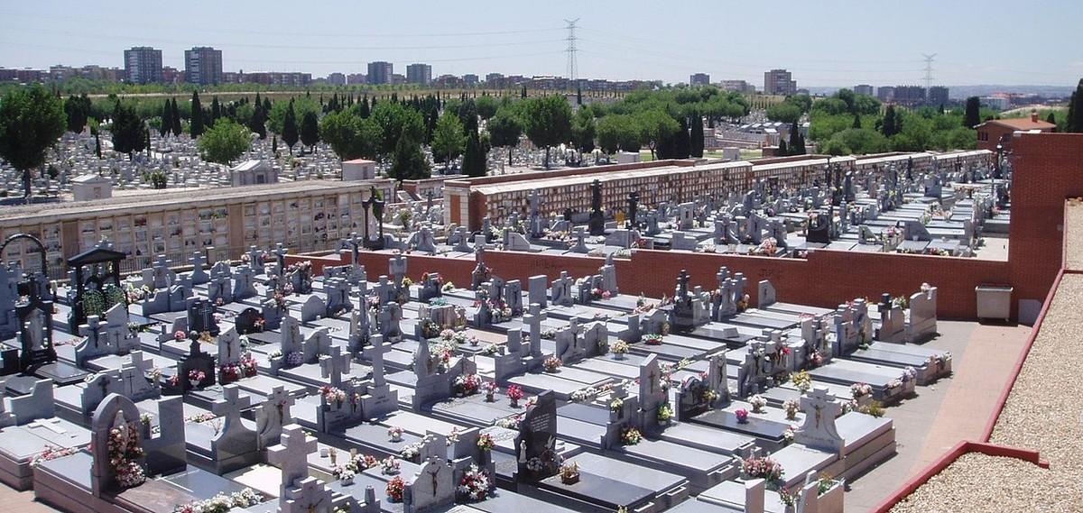 El cementerio de La Almudena, en una imagen de archivo.