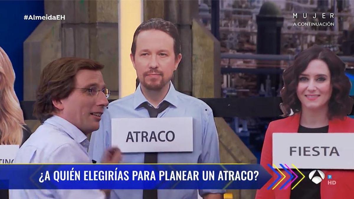 El Alcalde de Madrid en 'El hormiguero'.