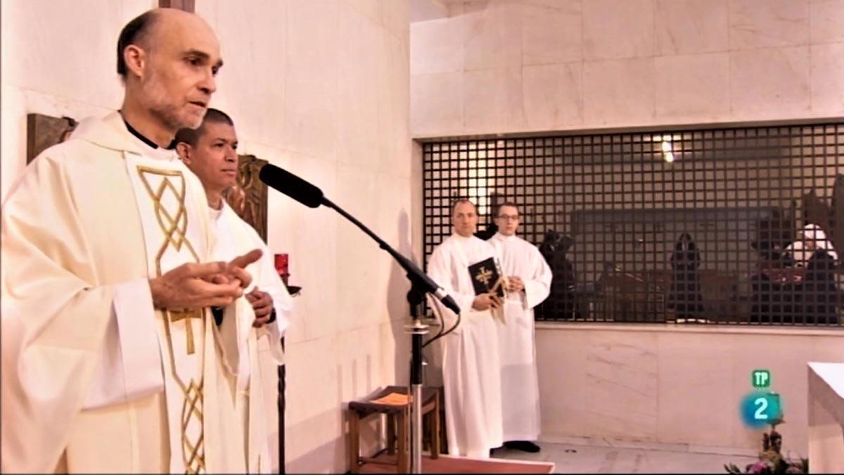 Misa desde el Convento de las Oblatas.