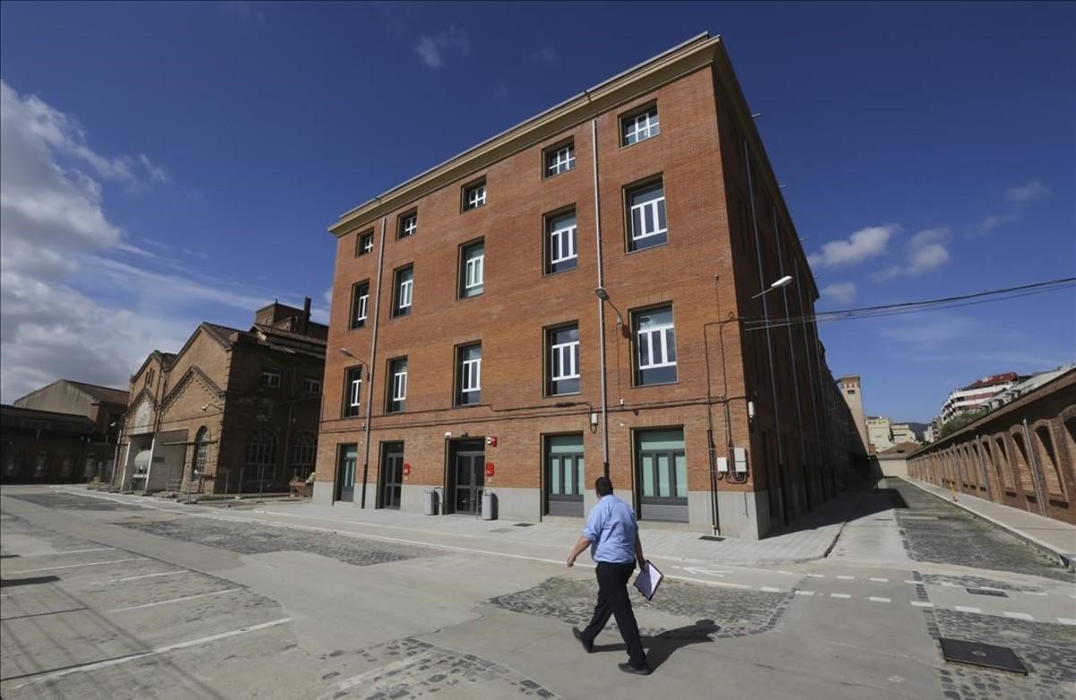 La antigua fábrica de Fabra i Coats.