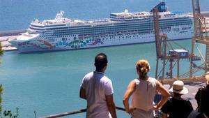 Salut detecta xarampió en una turista arribada en creuer a Barcelona