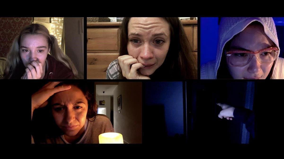 Una imagen de la película 'Host', de Rob Savage.