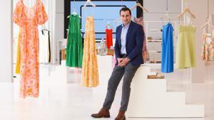 Toni Ruiz es el consejero delegado de la firma textil Mango.