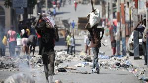 La pobreza se agrava en Haití.