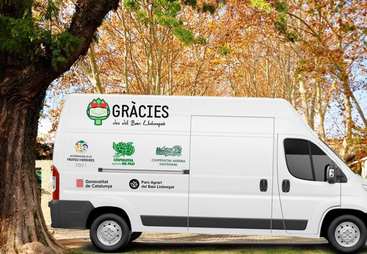 Imagen de la campaña de reparto de alcachofas