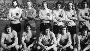 El equipo de Holanda que disputó la final del Mundial de 1974.