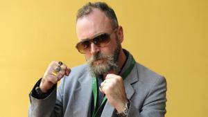 El escritor David Keenan.