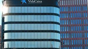 Vista de la seu a Barcelona de VidaCaixa.