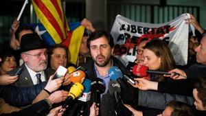 Bèlgica manté en llibertat els exconsellers Comín, Serret i Puig