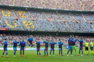 Equipo titular del FC Barcelona para el partido de liga de la primera jornada contra la Real Sociedad con el regreso del público al Camp Nou
