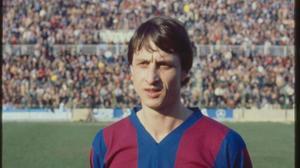 Johan Cruyff, en 1981, durante su etapa en el Levante.
