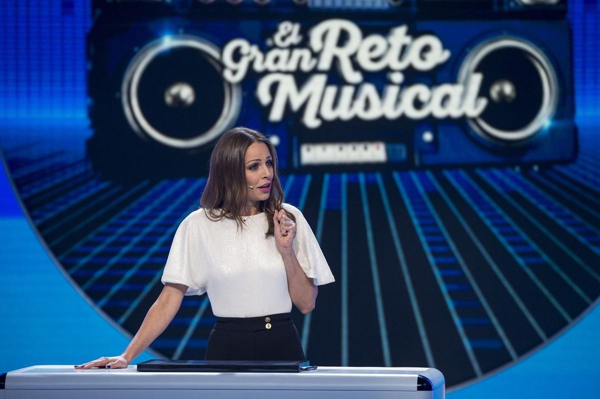 Eva Gonzalez, presentadora del nuevo concurso de TVE-1 'El gran reto musical'.