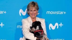Mercedes Milà presenta el seu nou programa amb el seu gos
