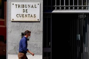 Edificio , fachada del Tribunal de Cuentas.