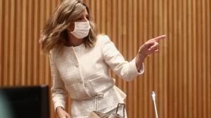Yolanda Díaz: No me van a encontrar nunca discutiendo por puestos.