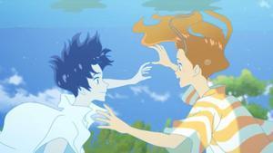 Una imagen de 'El amor está en el agua'.